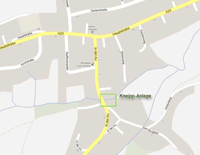 Kneippanlage – Gemeinde Ehingen
